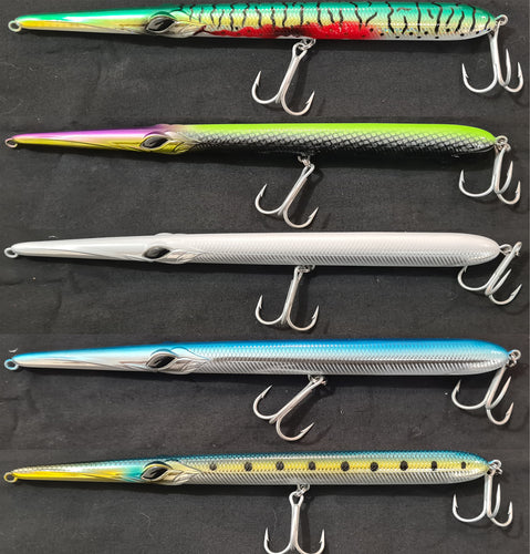 HOOKEM 8'' SQUID SURFACE HARD BODY FLOATING STICK BAIT