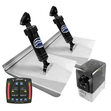 Load image into Gallery viewer, BENNETT HYDRAULIC TRIM TAB KIT - COMPLETE M120 SPORTS KIT AUTO TRIM PRO - 10 x 12 INCH TABS