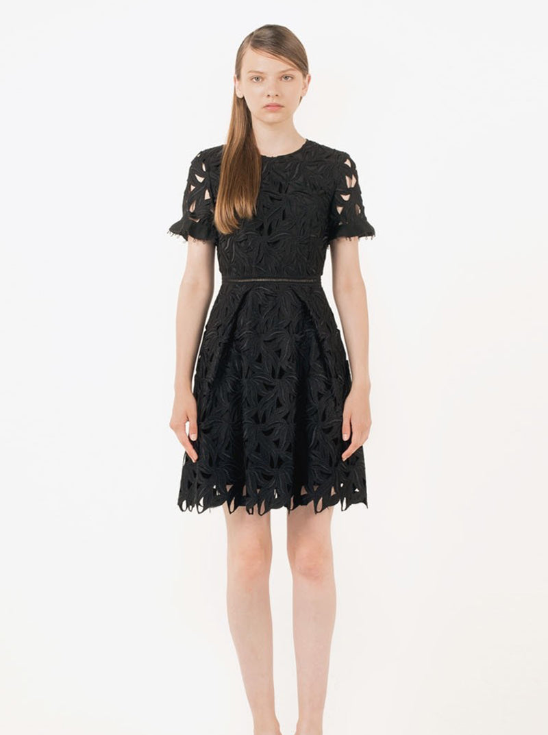 Leaf Lace Dress in S