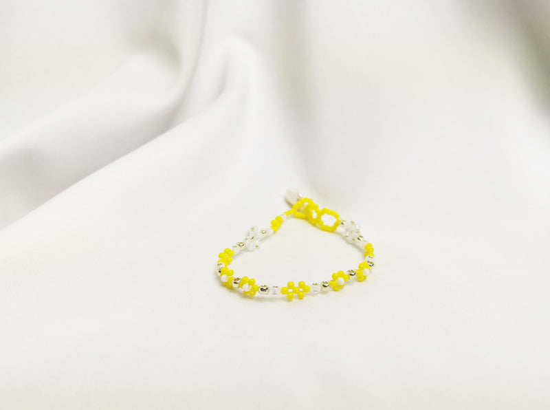 Chana Bracelet in Lemon Yellow