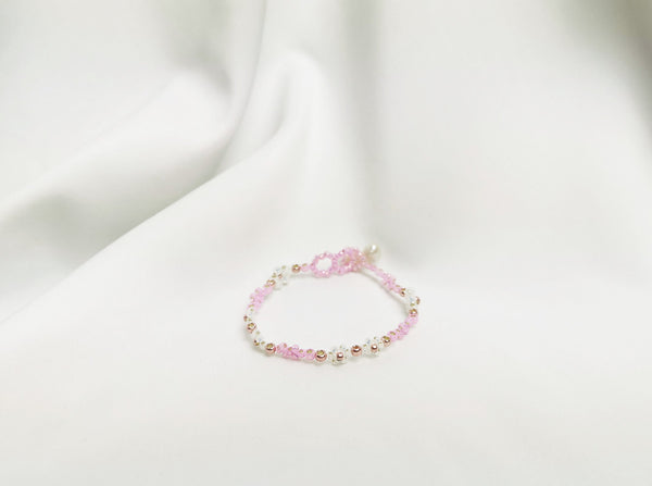 Chana Bracelet in Carnation Pink