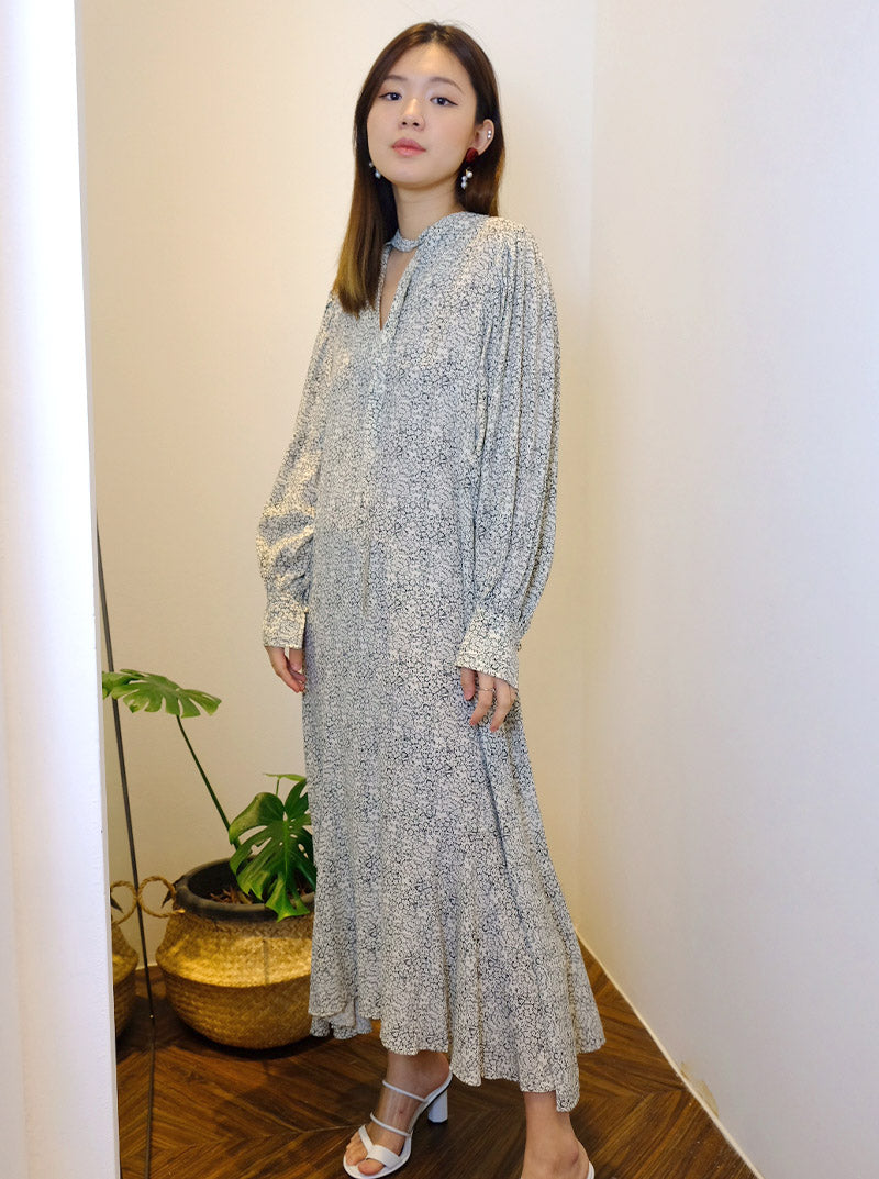 DC Long Sleeve Maxi Dress