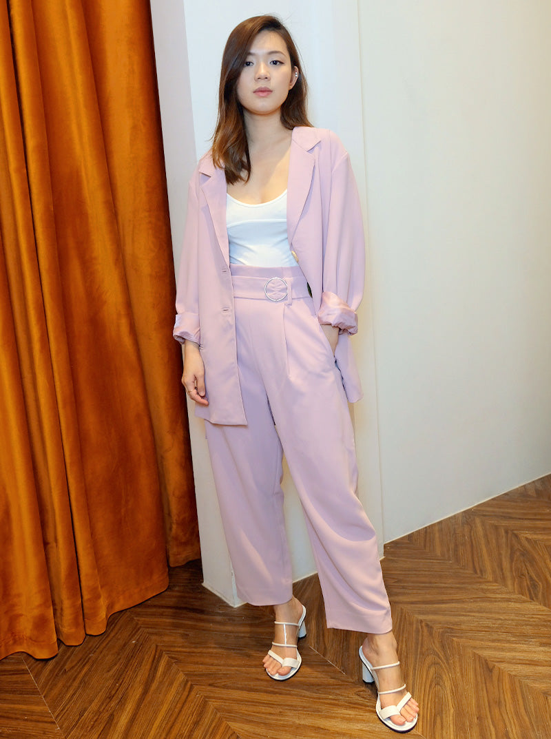 DC Oversized Suit in Lilac
