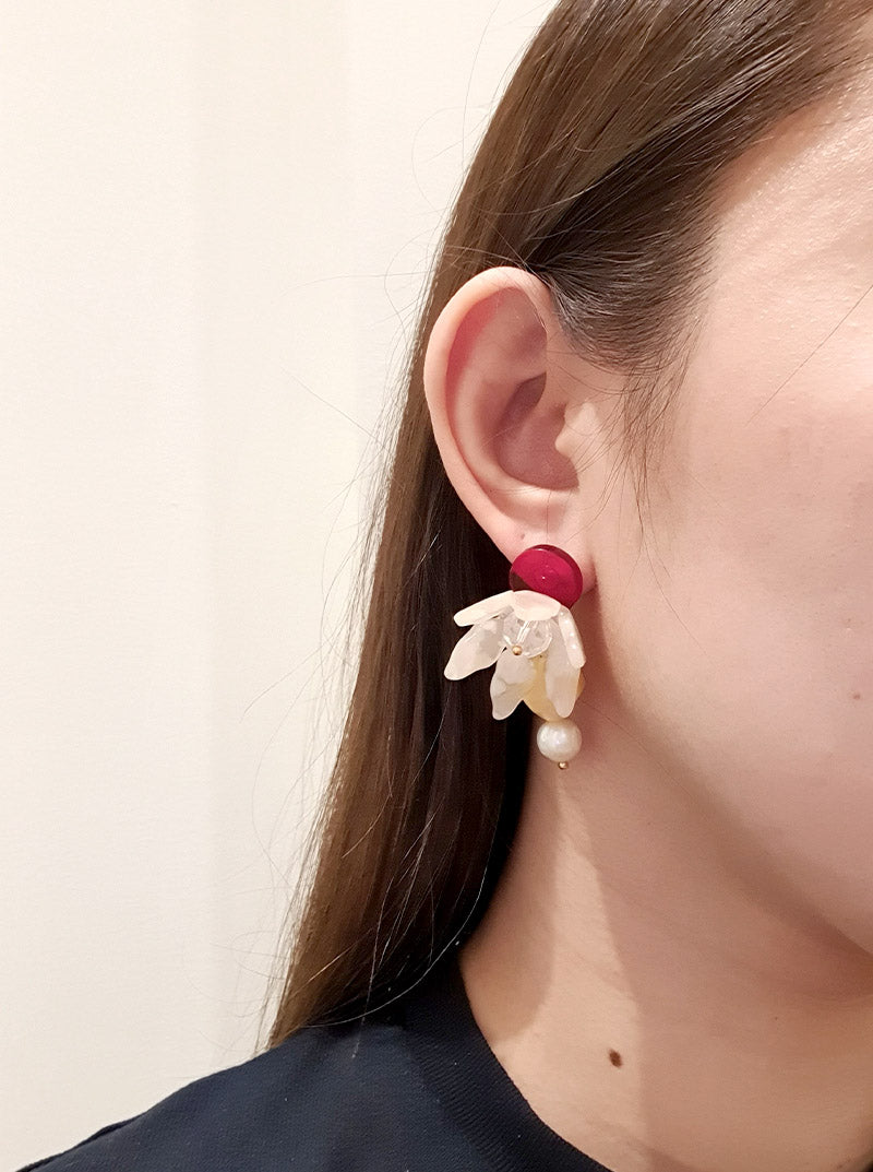 Félicité Floral Earrings