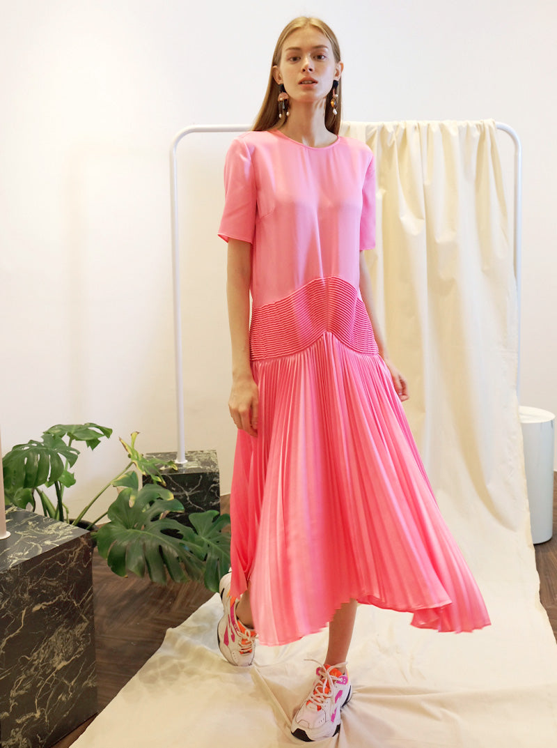 Neela Dress in Pink
