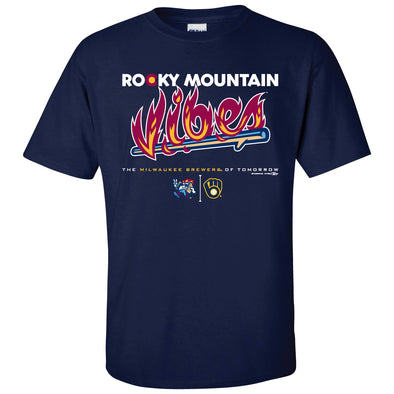 Rocky Mountain Vibes Vibes and Brewers Collaboration Tee