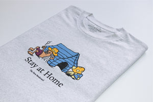 Stay at Home 'Memento' T-Shirt - White Marle