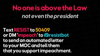 "Phone-In Campaign: ""Yes"" for Impeachment"