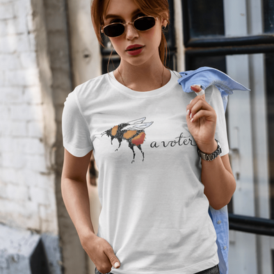 Revolution Art Shop Bee A Voter Women's Tee Women's Tee