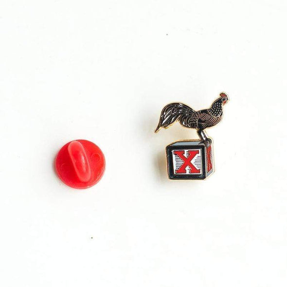 Revolution Art Shop Coq Bloq Enamel Pin Enamel Pin