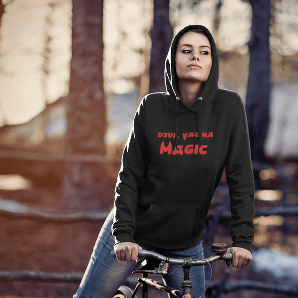 Trash Panda Chic Devil Vagina Magic Hoodie Hoodie
