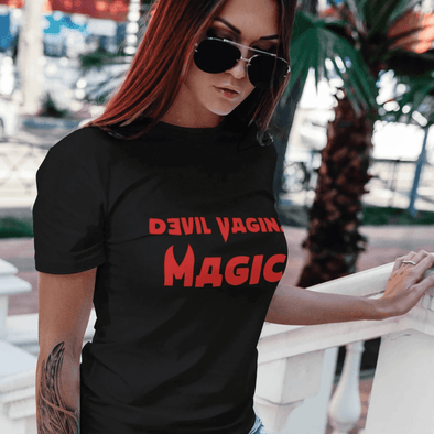 Trash Panda Chic Devil Vagina Magic Women's Tee Women's Tee