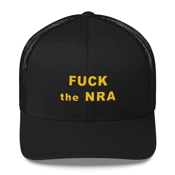 Revolution Art Shop F*ck The NRA Retro Trucker Cap - VPC Trucker Cap Black