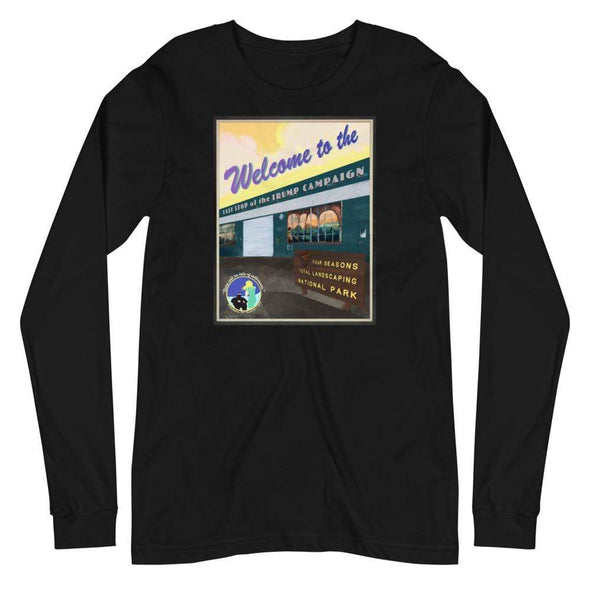 Revolution Art Shop Four Seasons National Park, Rudy's Last Stand | Unisex Long Sleeve Tee Black / XS