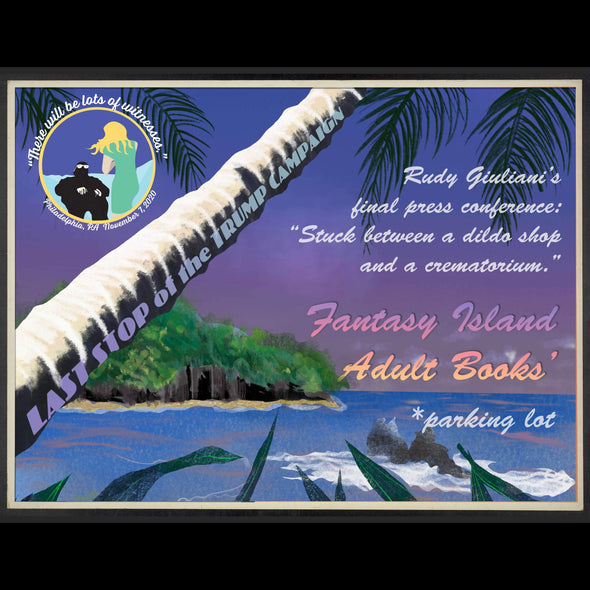 Revolution Art Shop Fantasy Island Vintage Historic Sites | Sets of 4 or 8 Cards