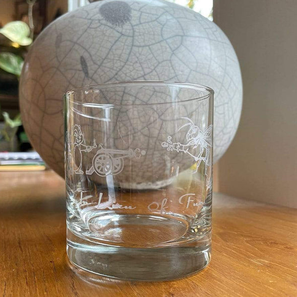 World Kitchen In Lieu of Fun Chipmunk Battle Royale | Rocks Glasses Glassware
