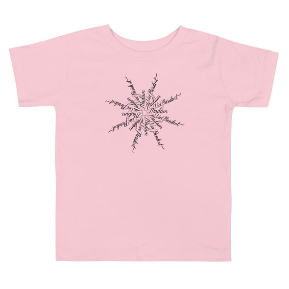 Revolution Art Shop Madam Vice President | The Snowflake Collection | Toddler Tee Pink / 2T