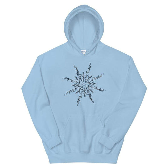 Revolution Art Shop Madam Vice President | The Snowflake Collection | Unisex Hoodie Light Blue / S