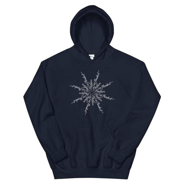 Revolution Art Shop Madam Vice President | The Snowflake Collection | Unisex Hoodie Navy / S