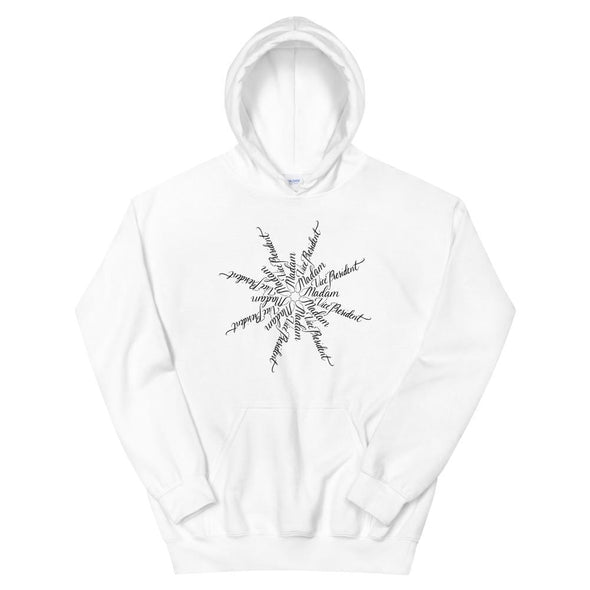 Revolution Art Shop Madam Vice President | The Snowflake Collection | Unisex Hoodie White / S