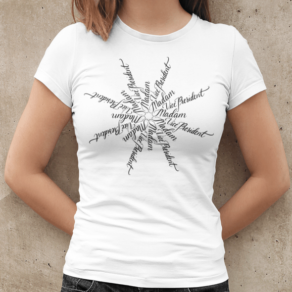 Nicole Bizzarro Madam Vice President | The Snowflake Collection | Women's Tee Women's Tee