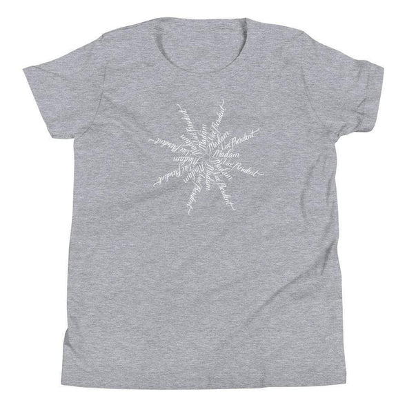 Revolution Art Shop Madam Vice President | The Snowflake Collection | Youth T-Shirt Athletic Heather / S