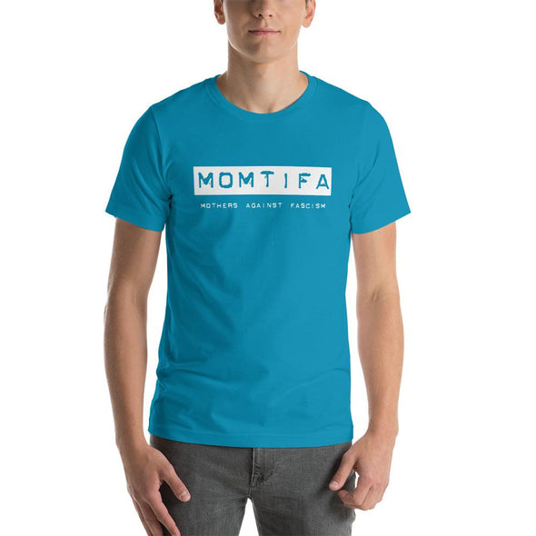 Revolution Art Shop Momtifa – Mothers Against Fascism Unisex T-Shirt Unisex Tee Aqua / S