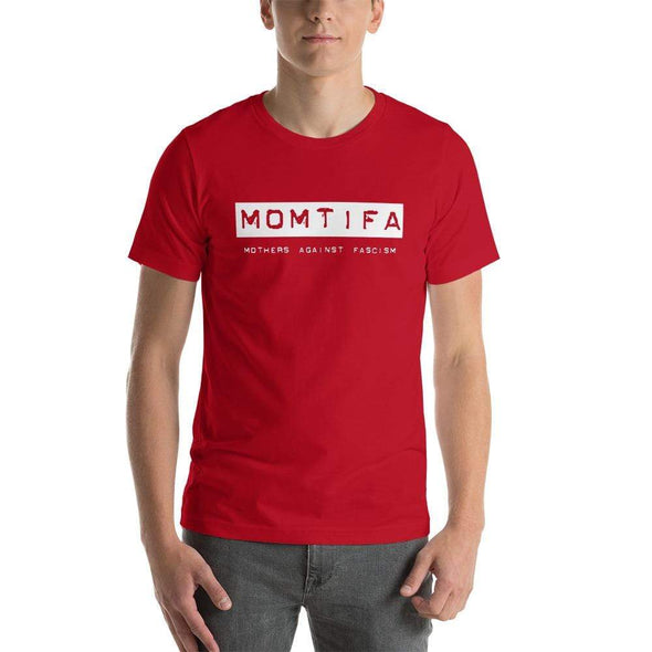 Revolution Art Shop Momtifa – Mothers Against Fascism Unisex T-Shirt Unisex Tee Red / S