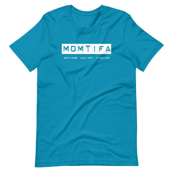 Revolution Art Shop Momtifa – Mothers Against Fascism Unisex T-Shirt Unisex Tee