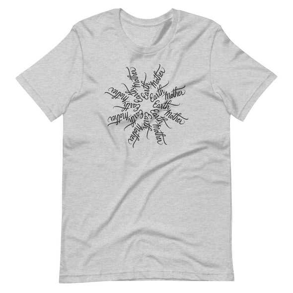 Revolution Art Shop Mother Earth - Earth Mother Mandala Unisex T-Shirt Athletic Heather / S