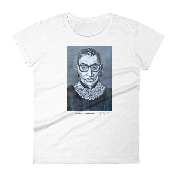 Charles Baker Straham Notorious RBG | The F Word Series by Charles Baker Strahan Women's Tee Women's Tee White / S