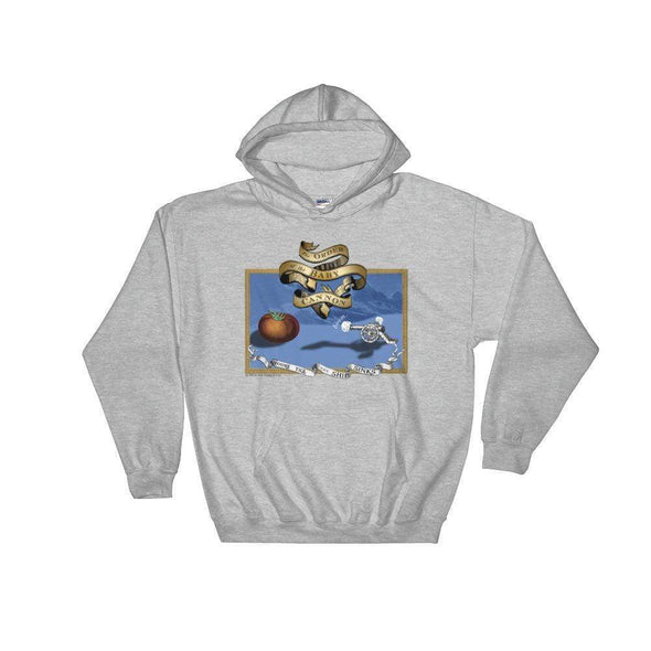 Revolution Art Shop Order Of The Baby Cannon Hoodie Hoodie Sport Grey / S