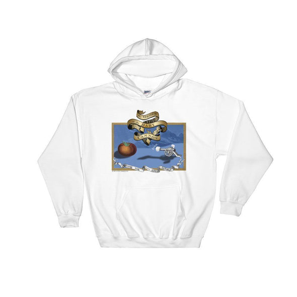 Revolution Art Shop Order Of The Baby Cannon Hoodie Hoodie White / S