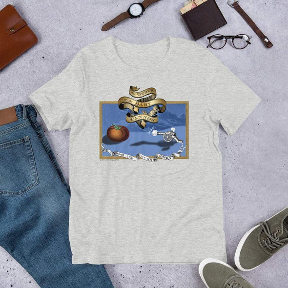 Revolution Art Shop Order Of The Baby Cannon Unisex Tee Unisex Tee Athletic Heather / S