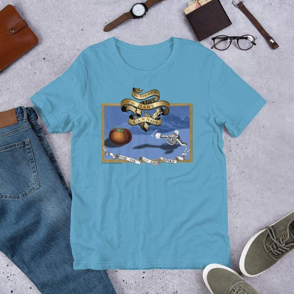 Revolution Art Shop Order Of The Baby Cannon Unisex Tee Unisex Tee Ocean Blue / S