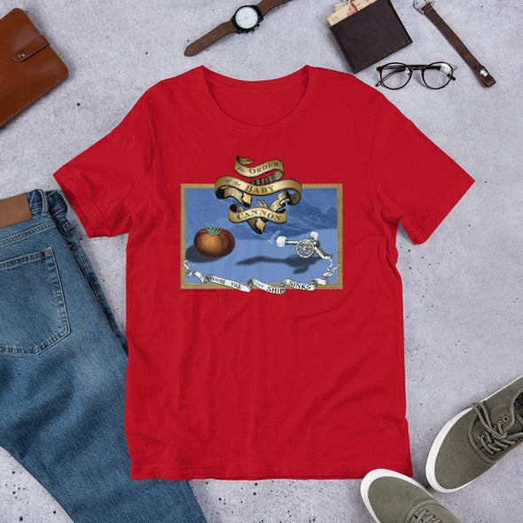 Revolution Art Shop Order Of The Baby Cannon Unisex Tee Unisex Tee Red / S