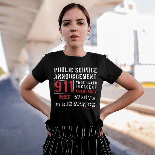 Revolution Art Shop Public Service Announcement Women's Classic Tee Women's Tee Black / S
