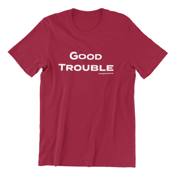 Revolution Art Shop Good Trouble Men's Fitted Tee Men's Tees