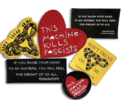 Revolution Art Shop Social Justice • Gift Pack Patches