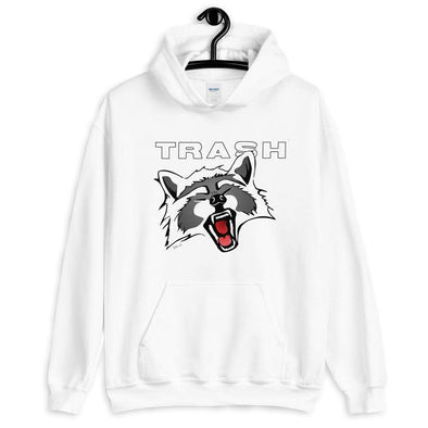 Revolution Art Shop Trash Panda Unisex Hoodie Hoodie White / S