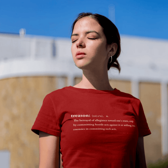 Revolution Art Shop Treason Women's Classic Tee Women's Tee Independence Red / S