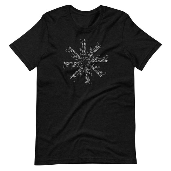 Revolution Art Shop Truth Matters | The Snowflake Collection | Unisex T-Shirt Black Heather / S