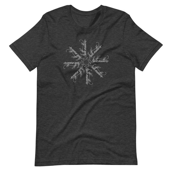 Revolution Art Shop Truth Matters | The Snowflake Collection | Unisex T-Shirt Dark Grey Heather / S
