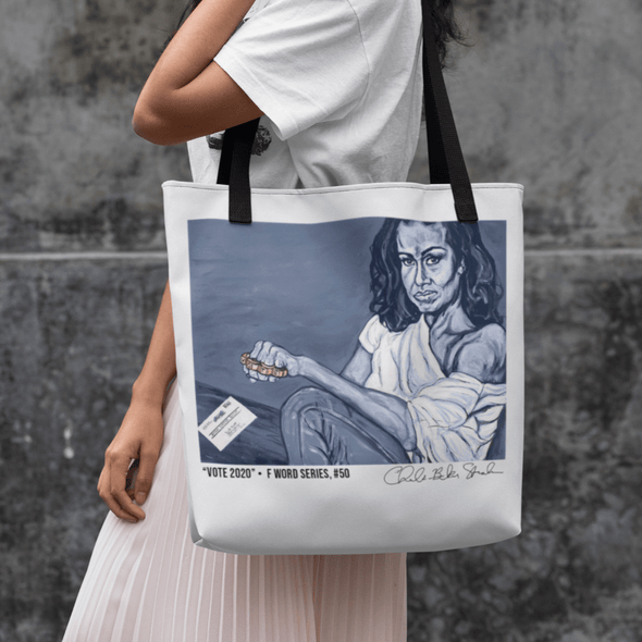 "Revolution Art Shop Vote 2020 | ""The F Word"" by Charles Baker Strahan 