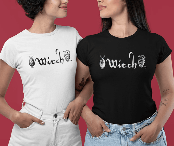 Trash Panda Chic Witch Women's Classic Tee Women's Tee Black / S