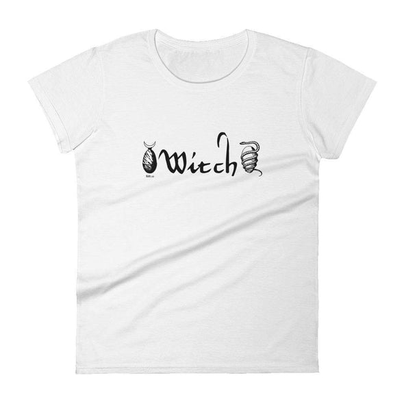 Trash Panda Chic Witch Women's Classic Tee Women's Tee White / S