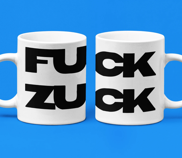 Trash Panda Chic Zuck Amok Coffee Mug Mug