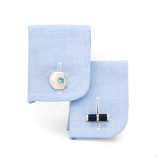 Umbonium Shell Cufflinks