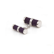 Purple Stingray Cufflinks