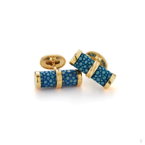 Chambray Stingray Cufflinks